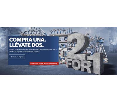 2 x 1 en herramienta Bosch Professional 18V